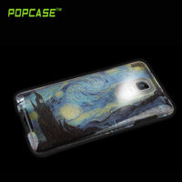 2015new design light up combo case cover note 4
