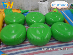 inflatable toy tire/inflatable floating obstacle for water park