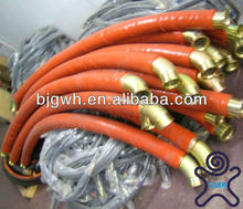 Silicone Rubber Coated Fiberglass Sleeve for Hydraulic Hose