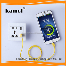 pattern type electrical socket usb 220v outlet double usb outlet used for home, hotel and airplane
