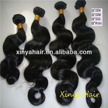Tangle free unprocessed body wave virgin brazillian hair