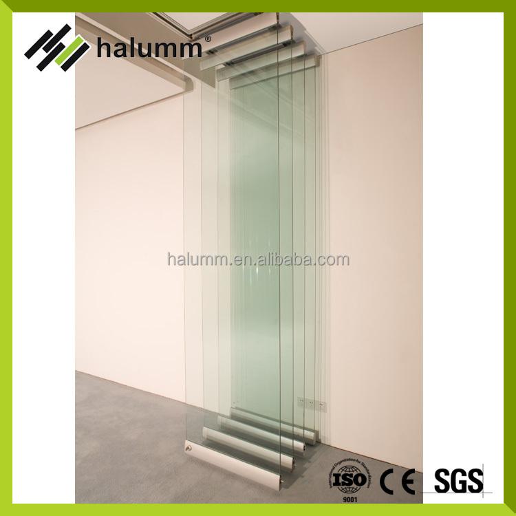 Heißer Verkauf Glas Bewegliche Trennwand Bewegliche Trennwand Faltbare  Partition Bedienbar Partition