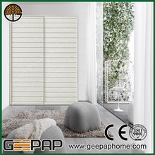 save space aluminum profile sliding door wardrobe