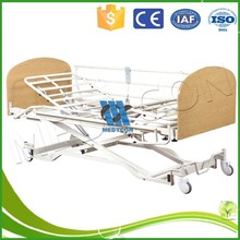 home care timber headboard three function wood electric hospital bed