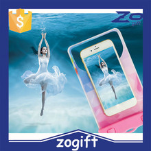 ZOGIFT high quality waterproof bag,hot sale sealed waterproof phone bag for promotion