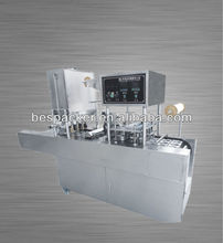 auto cup filling and sealing machine for juice