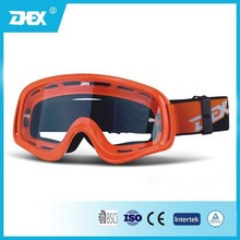 TPU Frame PC Lens Motorcycle Safety Goggles,MX Goggle