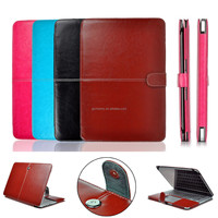 Best Price PU Leather Laptop Sleeve Case Cover Bag Protector For Apple For Macbook Air 13.3 Protecting Home Decoration