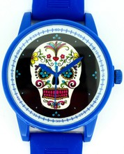 watch wrist phone watch Cheap Silicone Slap Gift Watch with Flower shape