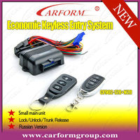 Lock/Unlcok/Car searching keyless entry system with signal light flash/window closer&trunk release output