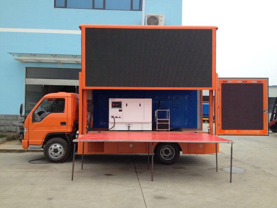 Trucks/used digital armored mobile billboard truck for sales