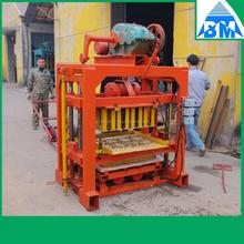 small brick making machine QT4-40 cement brick equipment