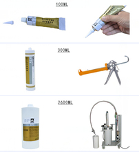 AP-601W White Flowable One-part RTV Silicone Rubber Adhesive Sealant for Electronics Applications