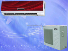 36000btu cheap price wall split air conditioner, cooling and heating for option, 1% spare parts for free