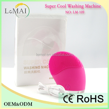 LM-109 lemai beauty machine manufacture silicone beauty brush facial steamer