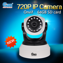 1.0MP Nightvision 15m indoor camera HD 720P pixels wifi ip camera with nvr kit