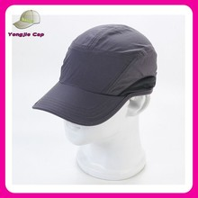 custom made folding outdoors golf caps soft quick dry baseball cap no logo no