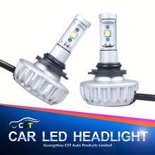 2015 Lattest DIY optional color led headlight 6000K H11 led lamp