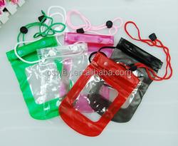 Transparent PVC WaterProof Mobile camera Bag