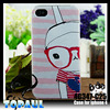Cartoon mobile printing case for iphone4 mobile accessories wholesale