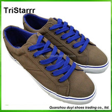 2014 china new design cheap casual wholesale canvas shoes for men pvc outsole