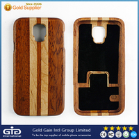 [NP-2386] Premium Wood Enviromental Durable Hard Phone Case for Samsung for Galaxy S5