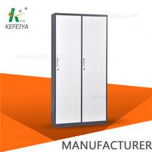 High-rigidity 2 Door Clothing Steel Locker/Wardrobe
