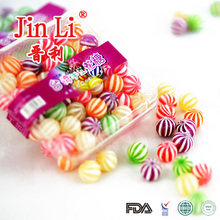 Most Welcomed in Taiwan Multi Coloured Fruity Flavour Candy Ball