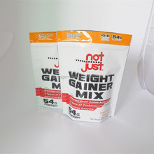 standing pouch/stand up bag for nutrition/stand up pouches for protein powder
