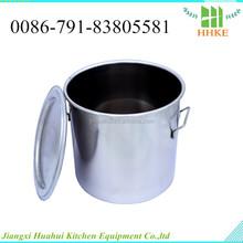 Hottest e melhor aço inoxidável tanque de água balde de vinho barril