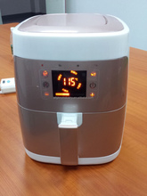 Electric Cool touch screen digital air fryer cooker