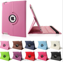 360 rotating case for ipad 2 3 4 , for ipad case air mini 2 3 4 rotating