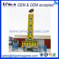 attraction design amusement park in playground equipment frog jump DMP model No.228