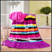 Super Soft Warm 2015 Newest Fashion 100% Polyester Coral Fleece blanket For Home