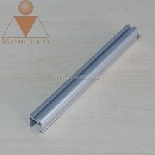 customized anodized aluminum profile for solar panel border in alloy 6061 6063 t5 t6 temper