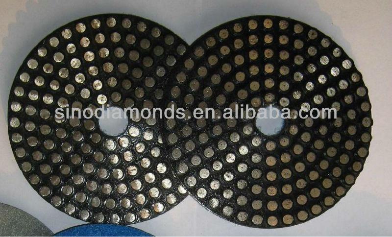 diamond marble floor polishing pads with high quality