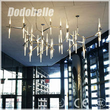 modern industrial Irregular branch shape nordic style vintage family pendant lamp/lighting