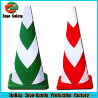 Zoyo-Safety Factory Wholesale Road Leader Adjustable Reflective PVC Or Cotton bicycle hub cone