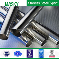 factory price 304 stainless steel pipe tube price per ton