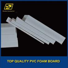 light weight pvc foam board/pvc plastic forex sheet
