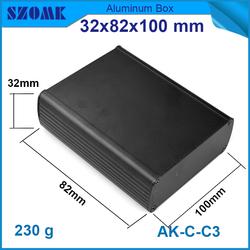 aluminum rectangular tubing junction box aluminum electronic project enclosure aluminium case diy