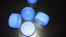 Plastic cap for mineral water bottle