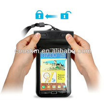 Biggest sized universal mobile phone Waterproof bag for HTC