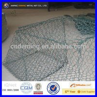 Anping DM good quality wire cages rock wall(ISO 9001:2008)