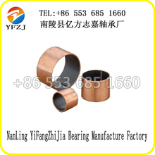 SF-1B Bronze Base dx oil groove brass bushing made in China high performance