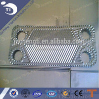 sea water swimming pool cooling use replaceable titanium plate heat exchanger