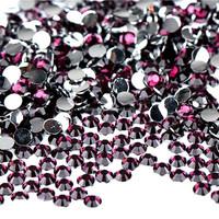 Nail art rhinestone 4mm resin stones, flat back resin stones