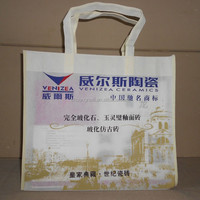 Eco friendly supermarket use Reinforced Handle non woven Bags