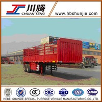 2 axles stake truck trailer