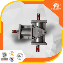 Fastest delivery China factroy Low Noise & High Speed right angle ratio 4:1 Spiral Bevel speed variator gearbox